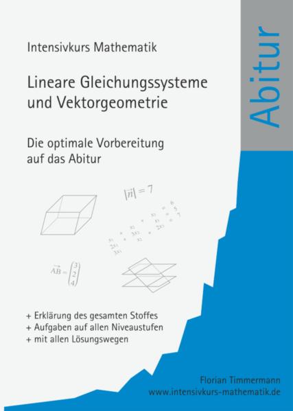 Übungsbuch lineare Gleichungssysteme und Vektorgeometrie